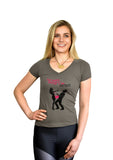 Damsel Not Distressed (V-neck)