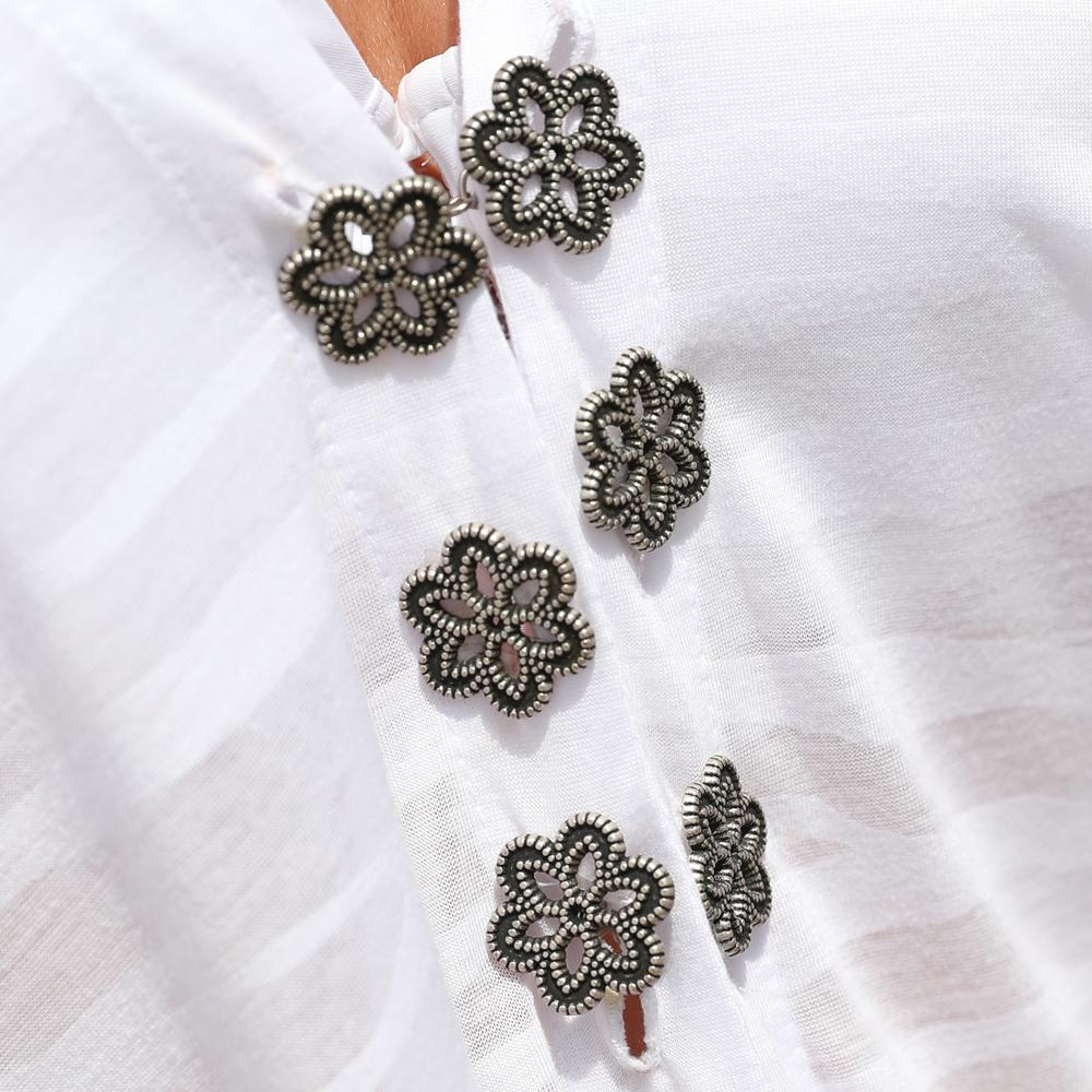 Antique Flower Buttons
