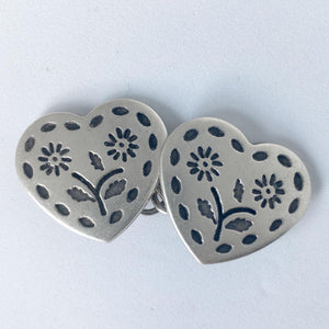 Flower Love Buttons- set of 6