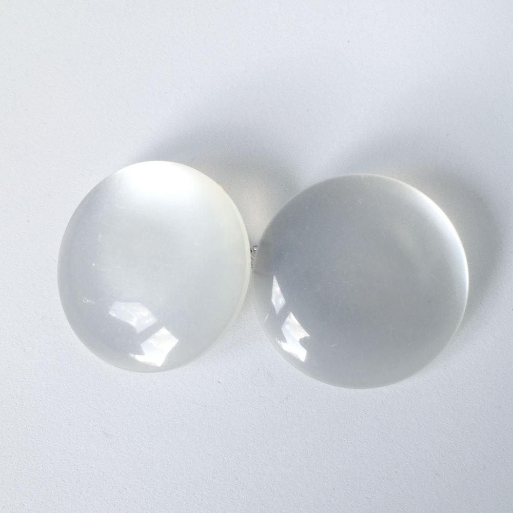 Pearlized White Buttons
