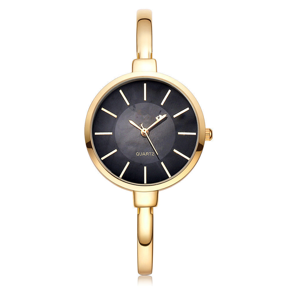 gold woman watch