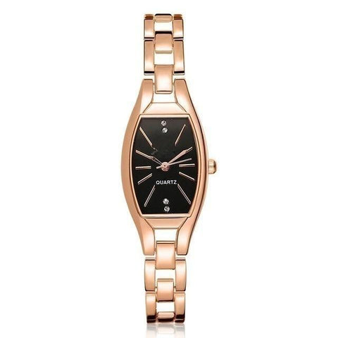 rose gold woman watch