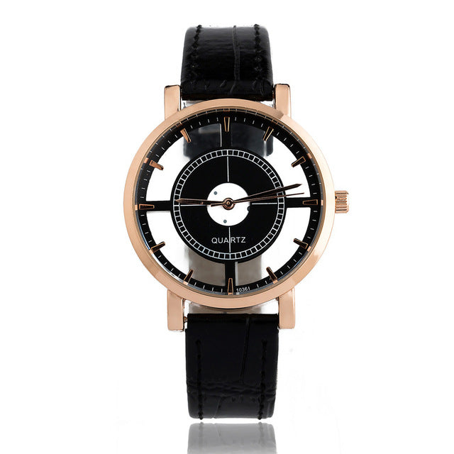 compass watch black
