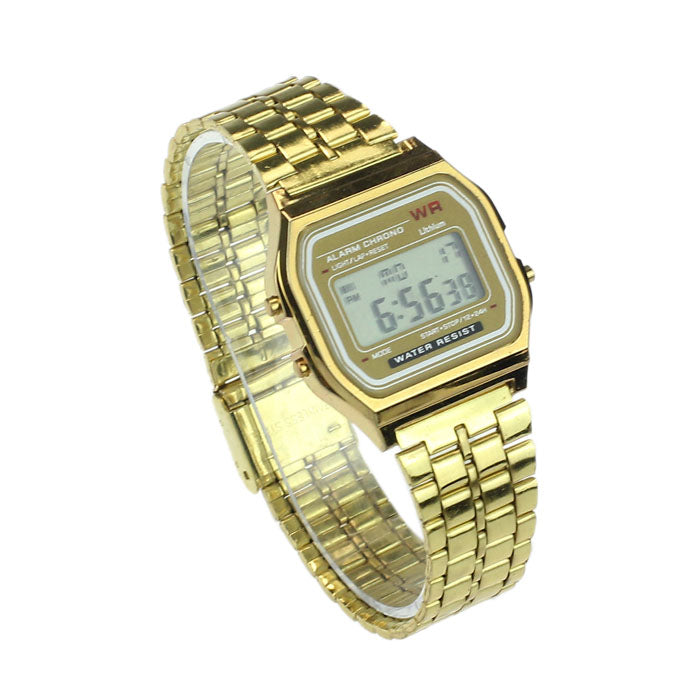 vintage analogic gold watch