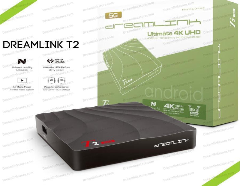 Dreamlink T2 4K Media Streaming Box Dreamlink-Formuler