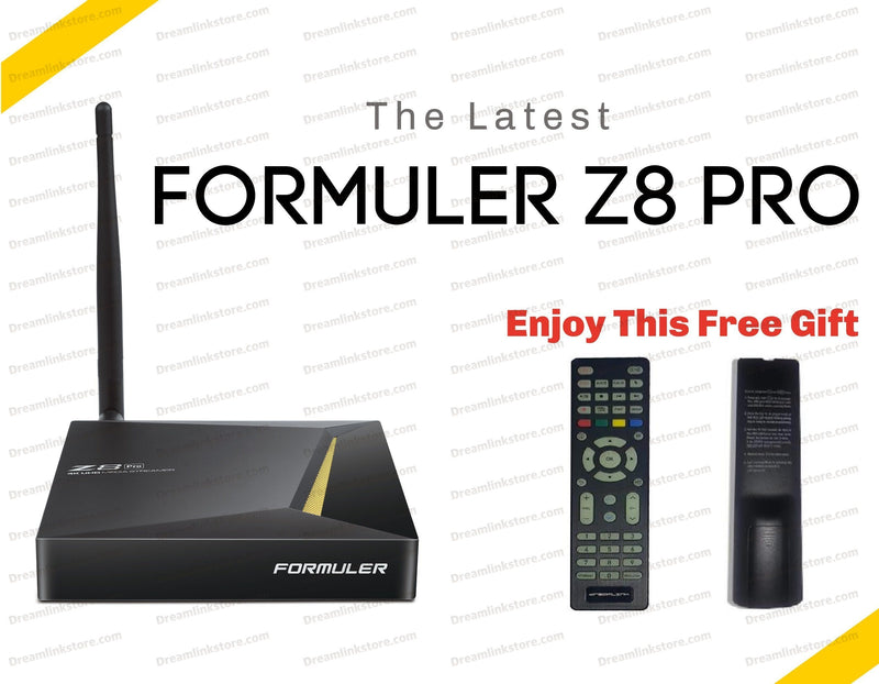 Formuler Z8 PRO 4K Media Streaming Box Formulerstore.com Luminous Original Remote