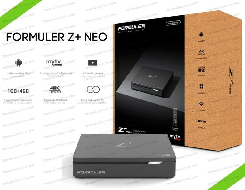 Formuler Z+NEO 4K Media Streaming Box (OPEN BOX) Dreamlink-Formuler