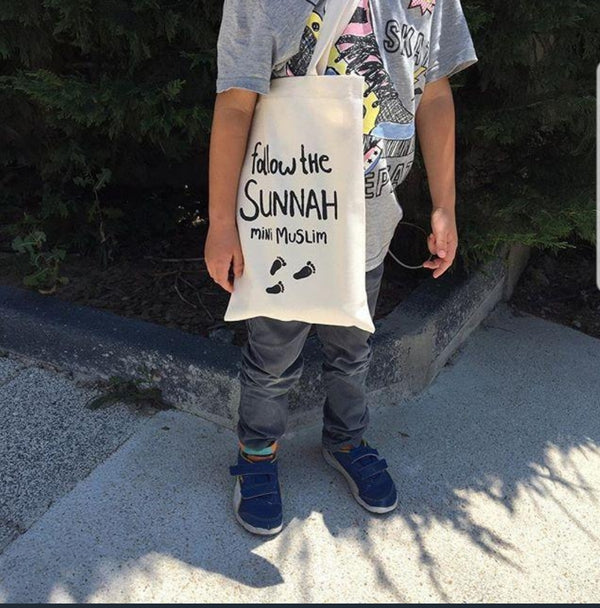 Väska - Follow the sunnah mini muslim