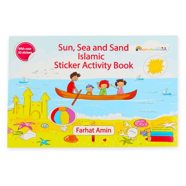 Sun, Sea and Sand Islamic sticker activity book