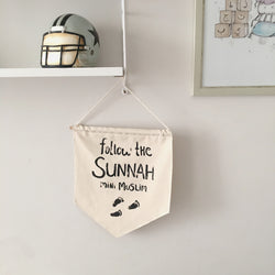 Vimpel - Follow the sunnah mini muslim