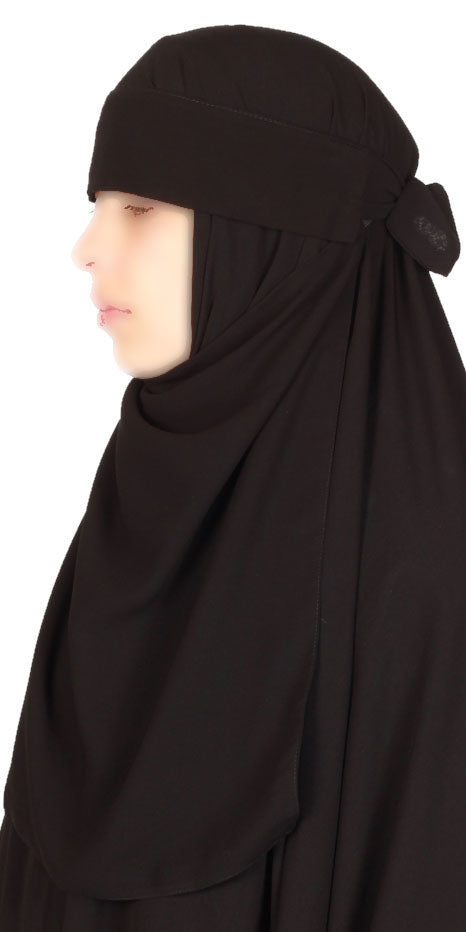 Niqab one-piece