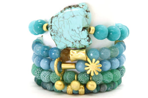 Morning Mist Stack - Half or Full Stack Your Choice! MM Full Stack - Size Small Bracelets