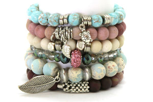 Poppy Stack - Half or Full Stack Your Choice! PPY Full Stack - Size Large Bracelets