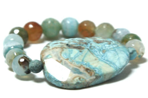 River Valley - Ocean Jasper Beaded Bracelet Bracelets