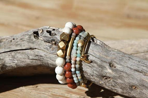 Rocky Stack: Girly with some Rock Bracelets