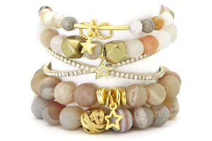 Setting Sun Stack - Half or Full Stack - Your Choice! SSN Full Stack - Size Small Bracelets
