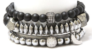 The Silver Phoenix Stack: Bracelet Set Bracelets