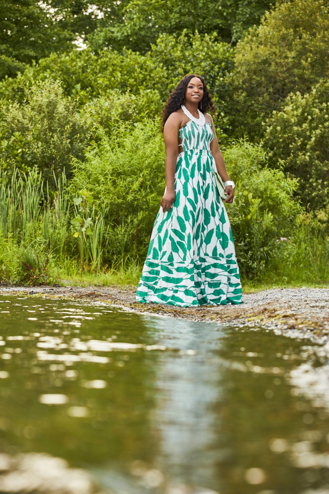 Greener on the Other Side Maxi Dress