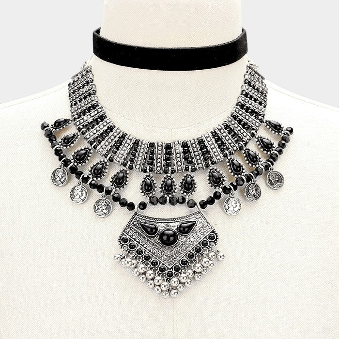 Charm Tribal Necklace