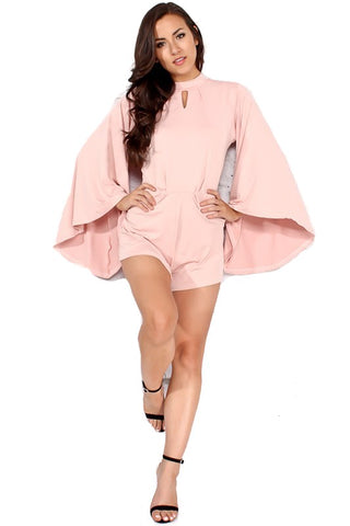 Angel Sleeve Romper