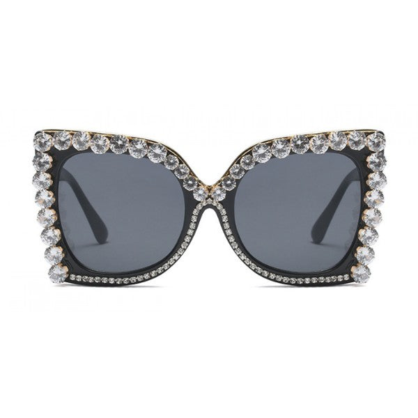 Glam Diamond Sunglasses