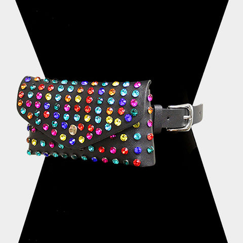ROUND MULTI-STUD FANNY PACK