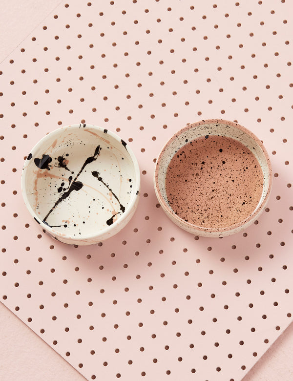 Speckled Bowls | Blush