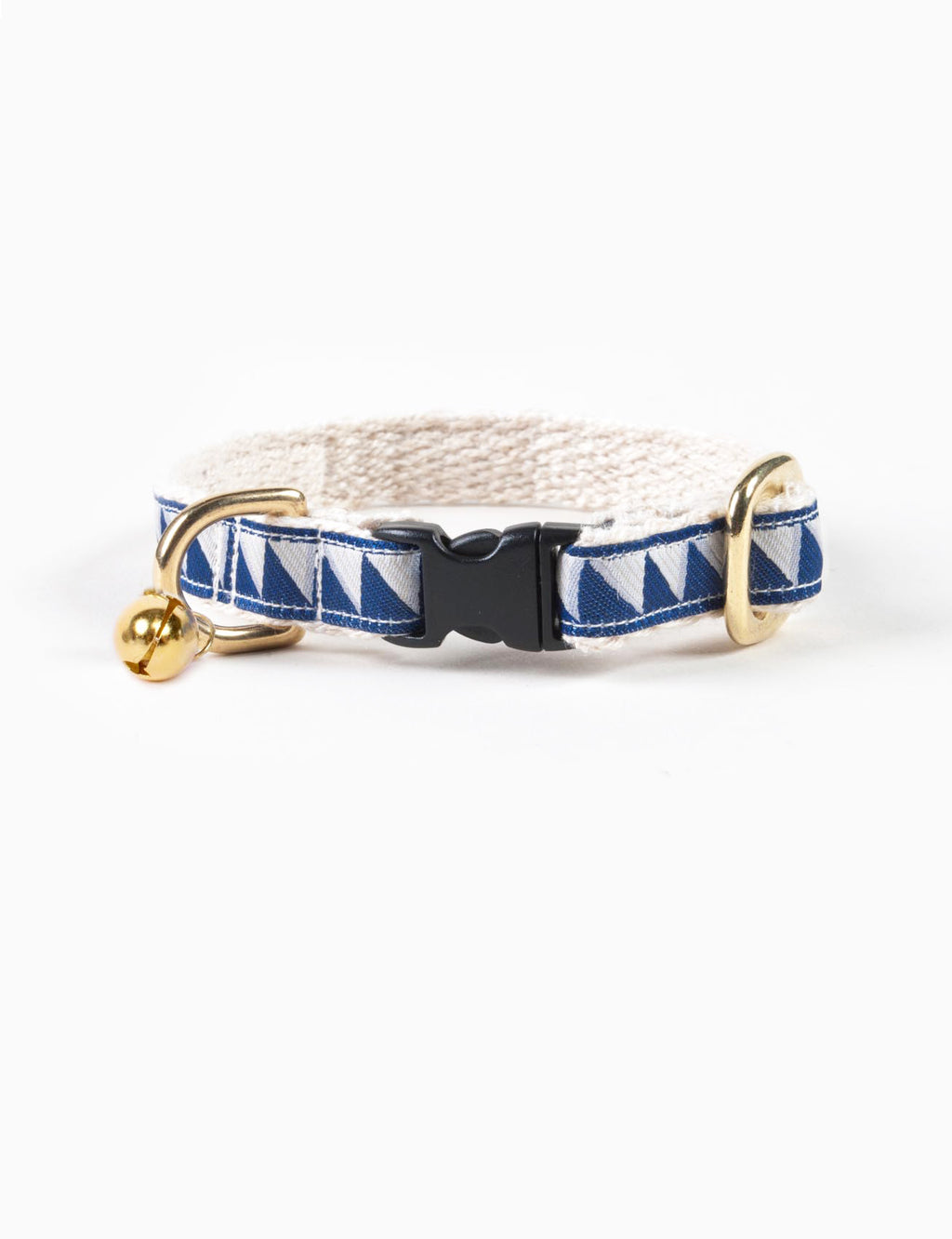 Nice Grill Cat Collar | Navy & Cool Grey