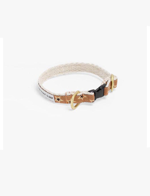 Starstruck Cat Collar | Black & Cream