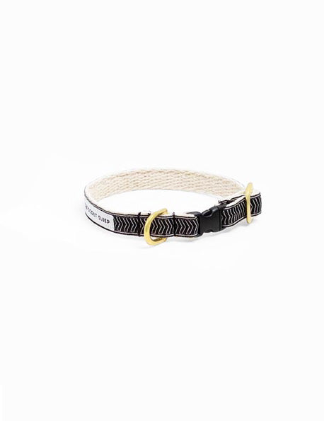 Chef l'Bark Cat Collar | Black & Cream