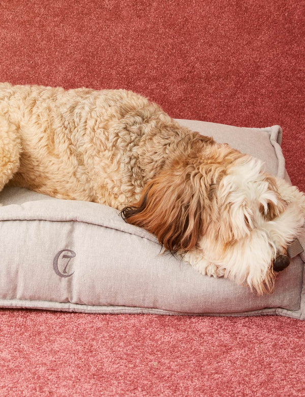 Cozy Dog Bed | Light Grey