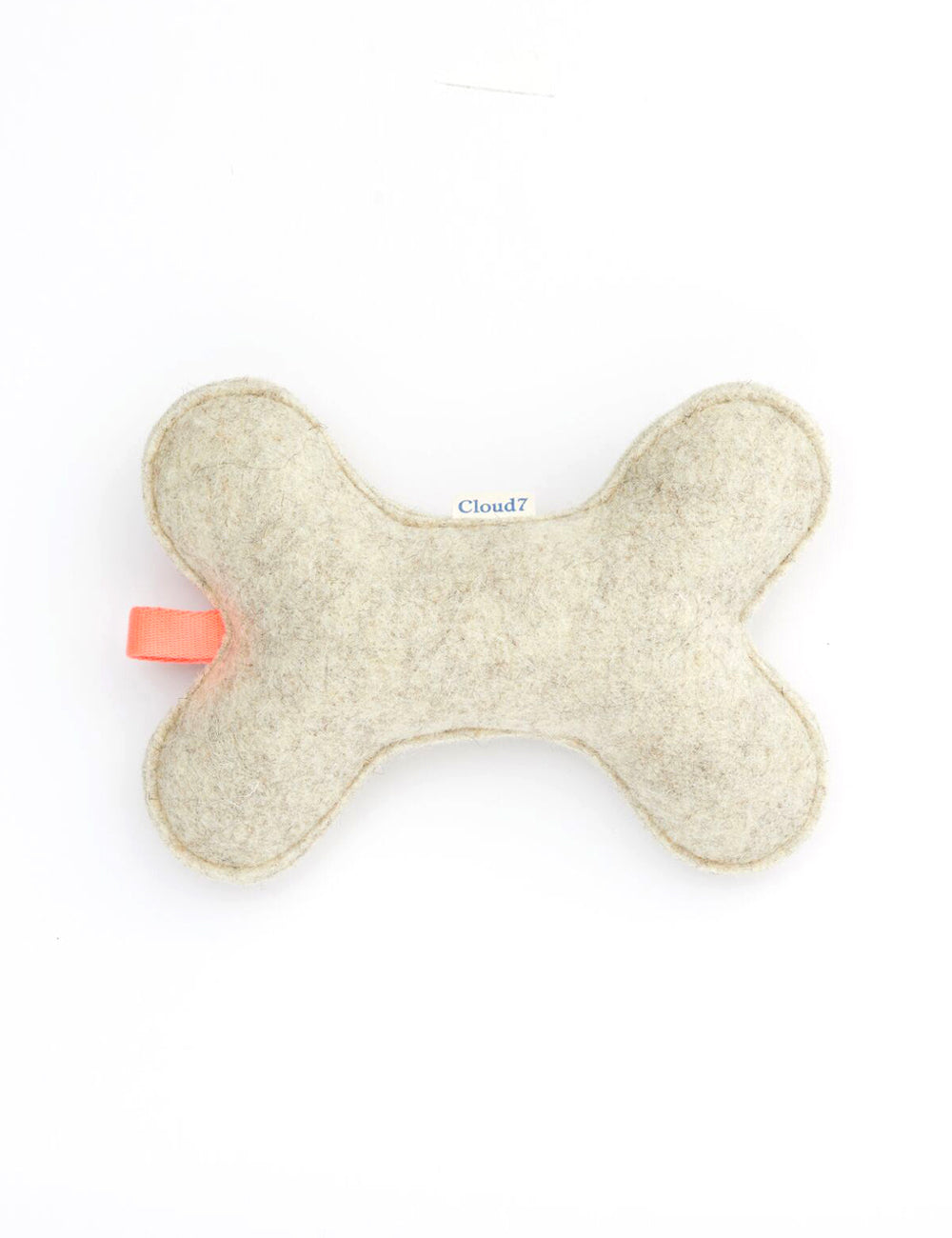 Felt Toy Bone | Grey