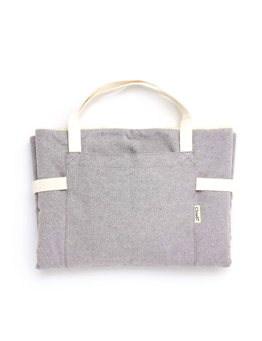 Travel Bed | Tweed Grey