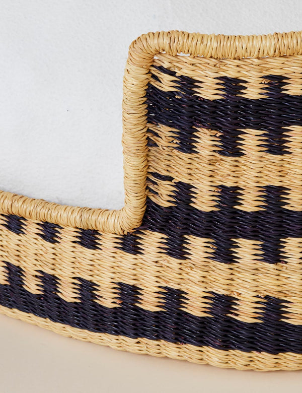 Woven Bear Dog Bed | Cross