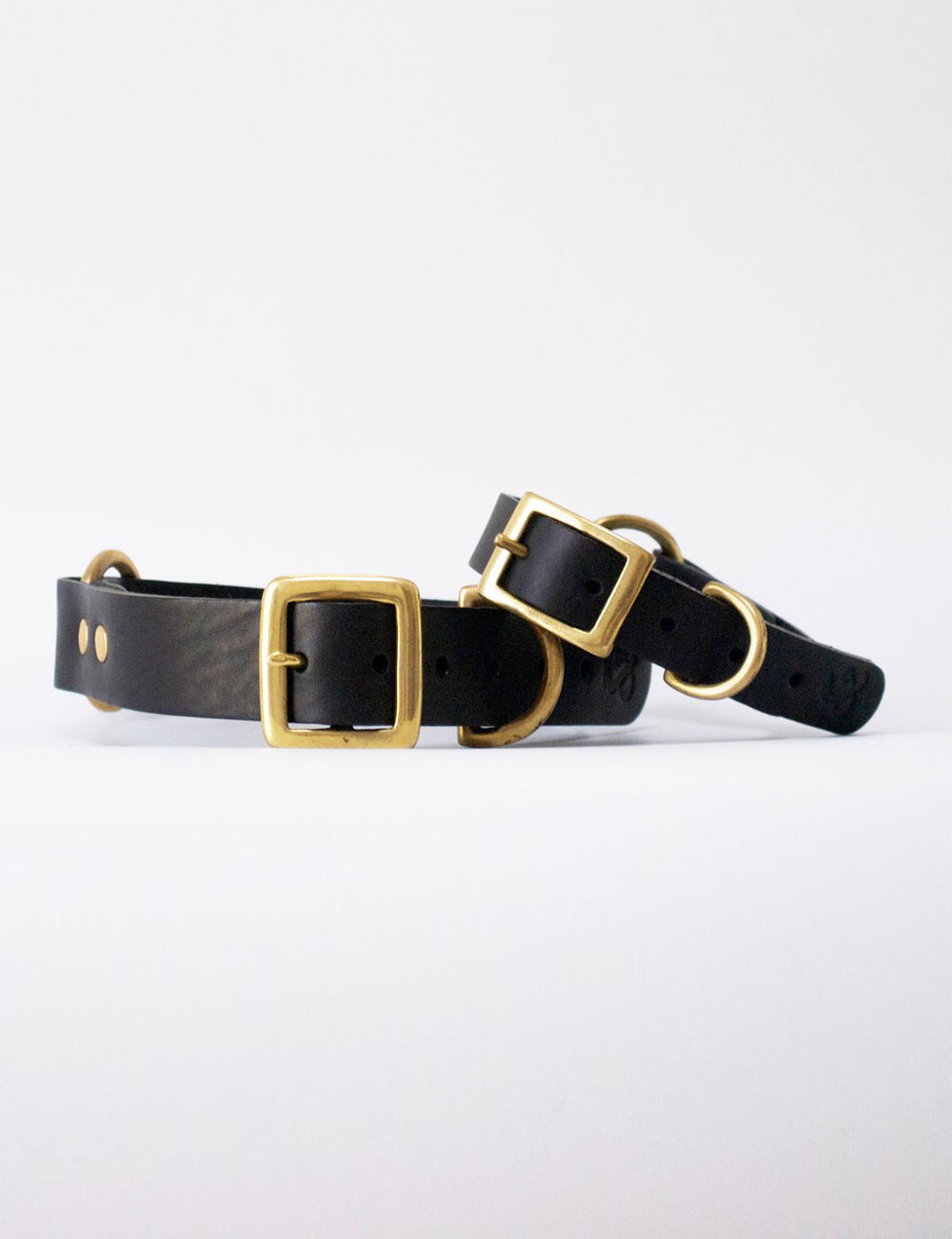 Leather Dog Collar | Black