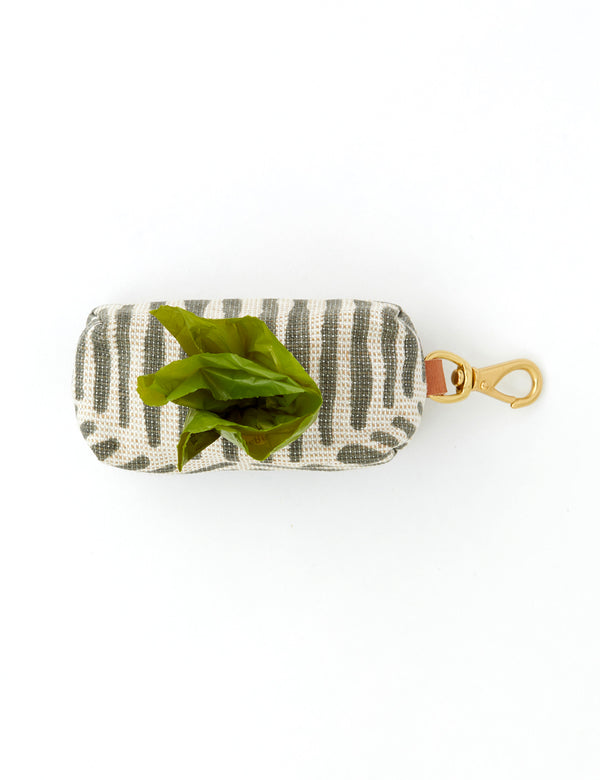 Modern Metallics Leash Bag