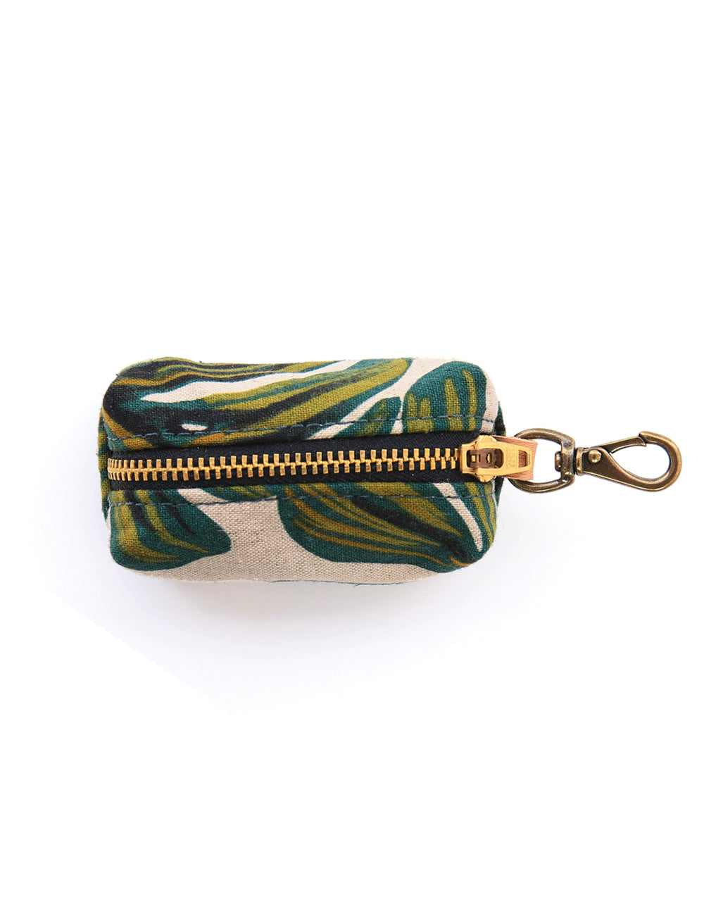Monstera Leaves Leash Bag