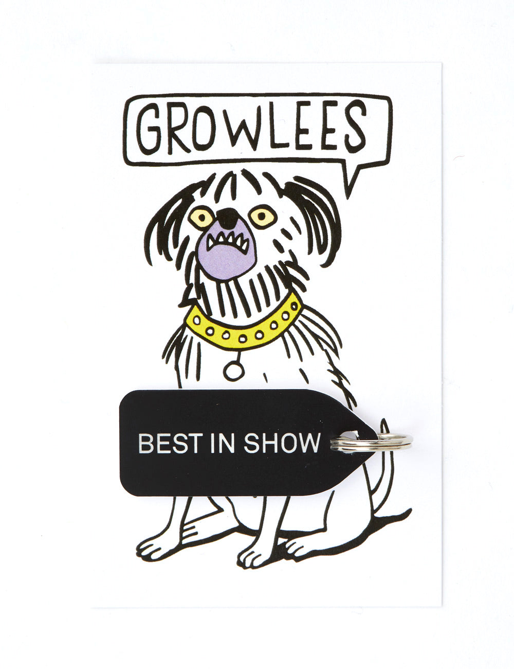 Best In Show Dog Tag | Black