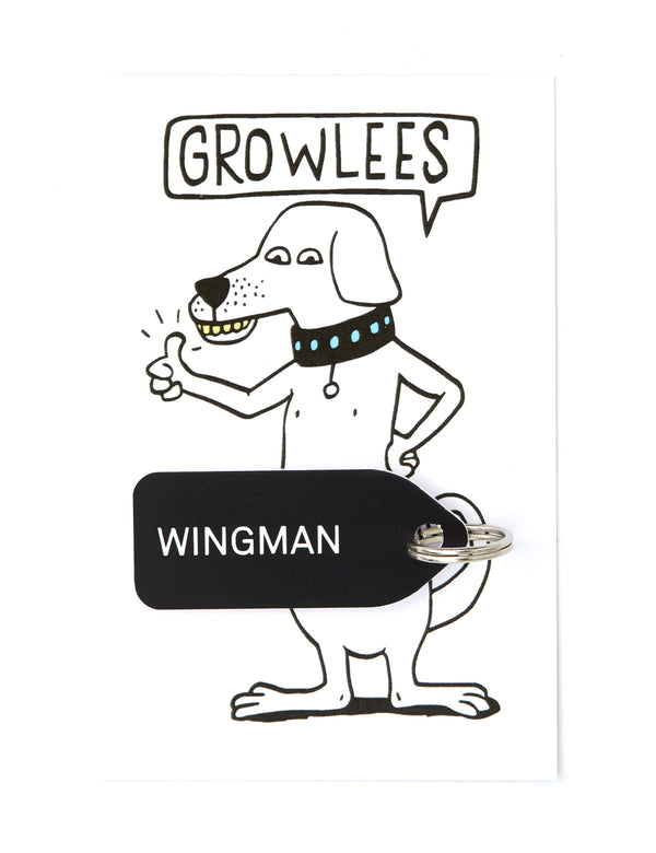 Wingman Dog Tag | Black