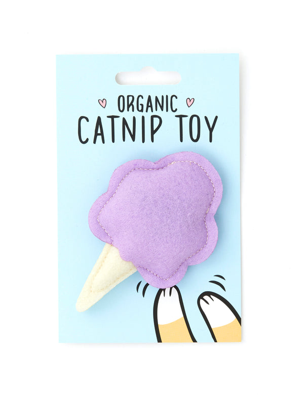 Cotton Candy Cat Toy | Purple