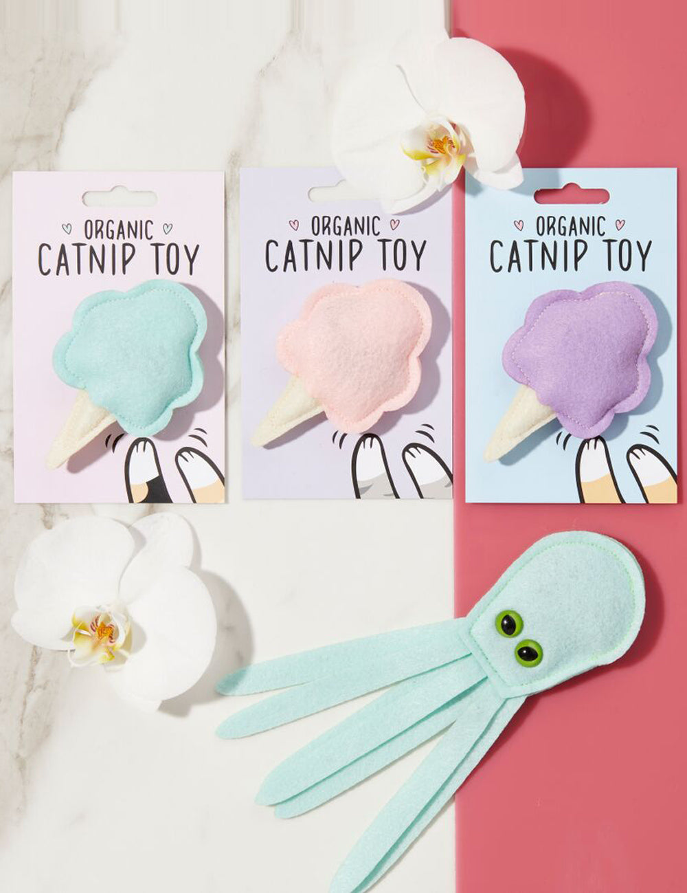 Cotton Candy Cat Toy | Mint