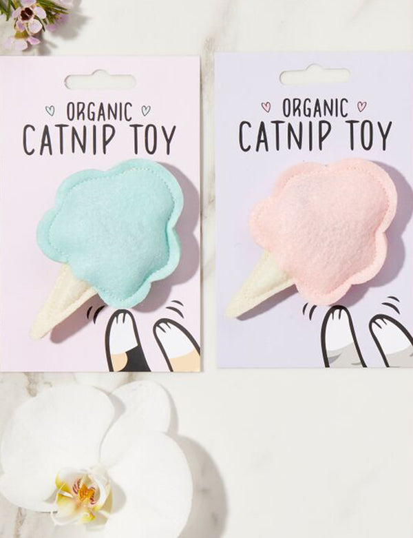 Cotton Candy Cat Toy | Pink