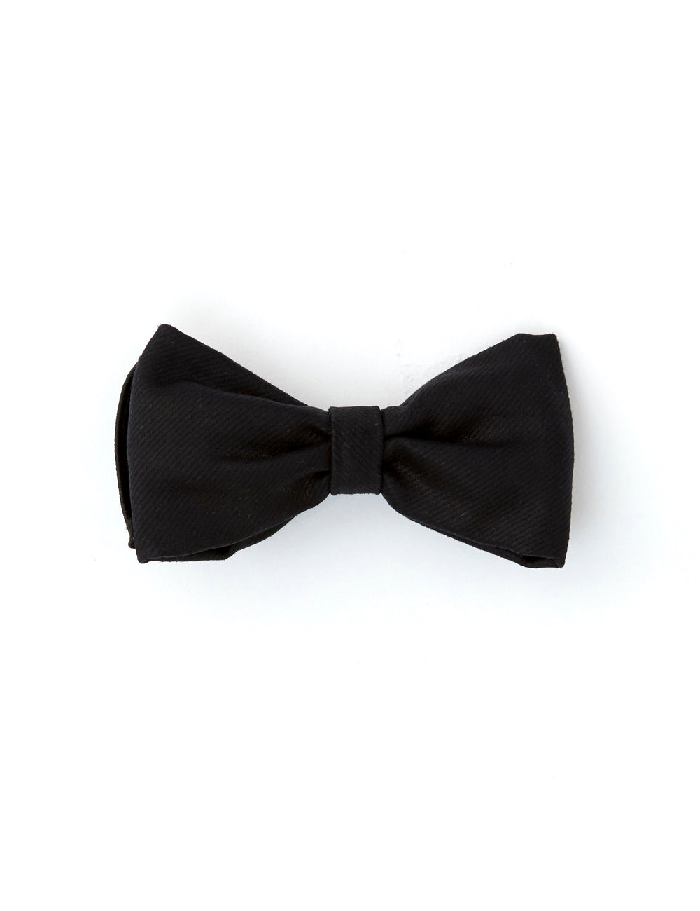 Collar Steez Bow Tie | Black Wax Denim