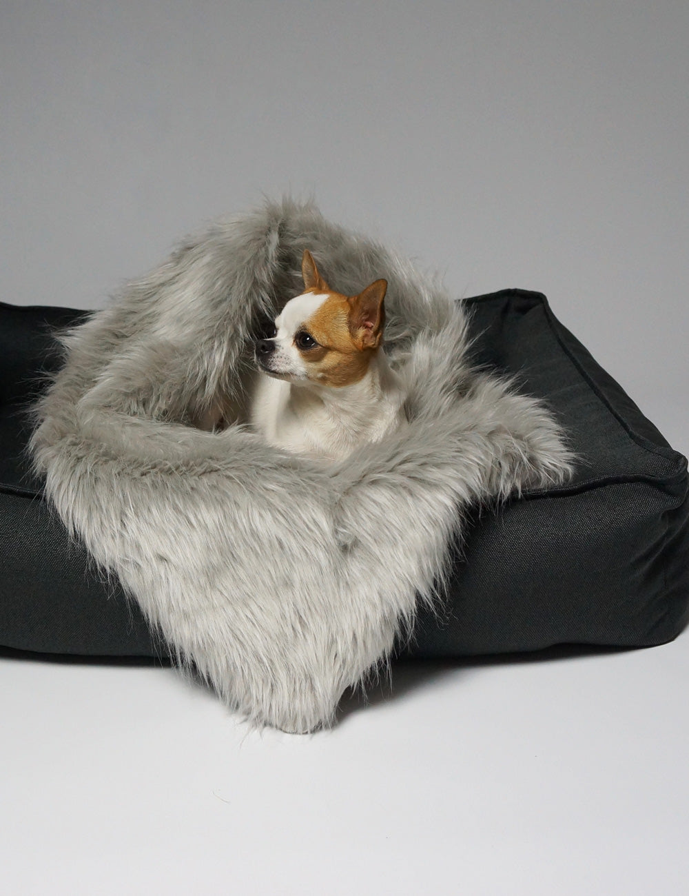 Tove Dog Bed | Anthracite