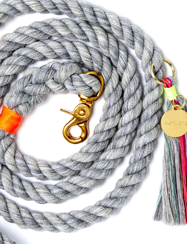 Athena Leash | Heather Grey
