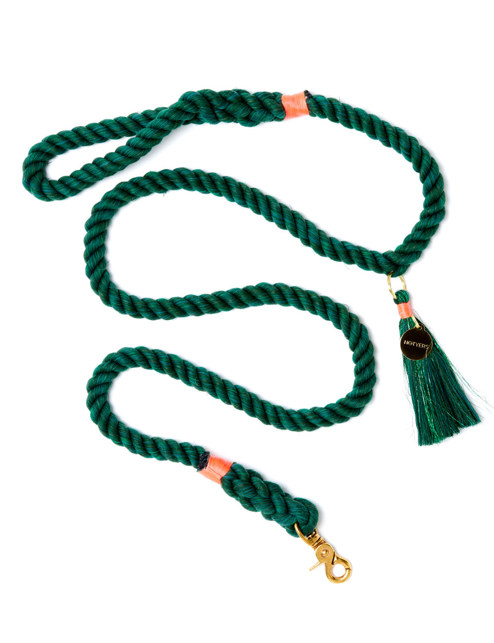 Cactus Leash | Emerald Green