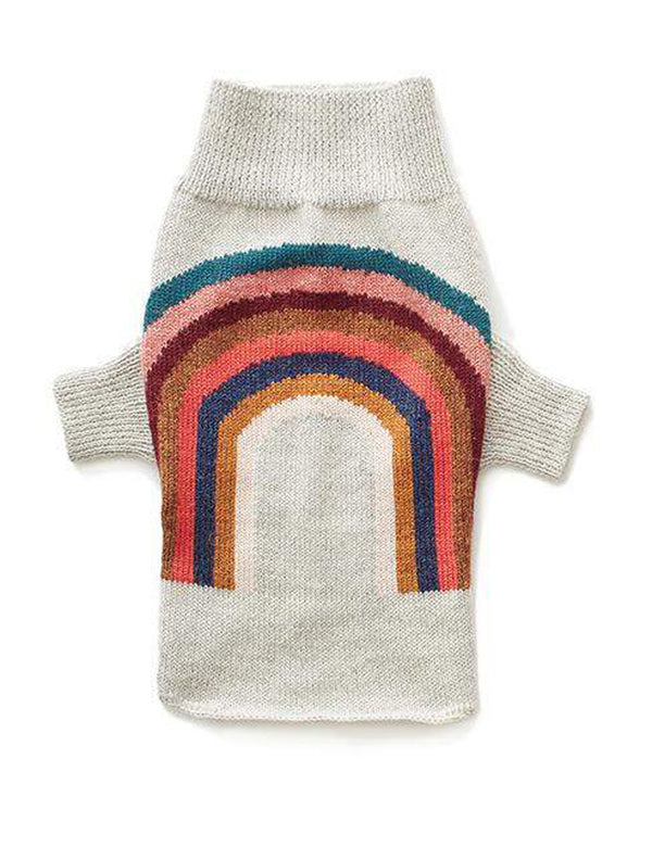 Rainbow Sweater | Light Grey