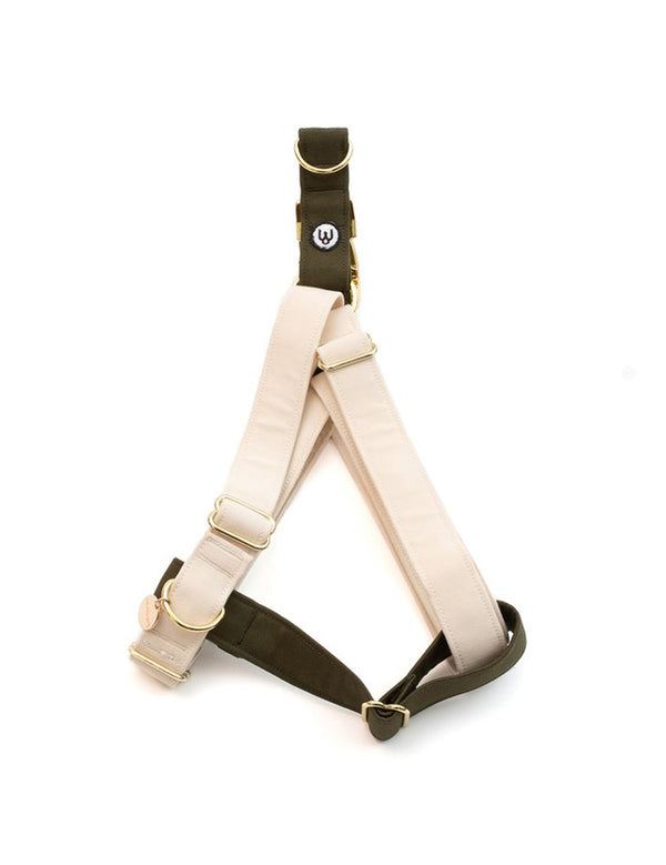 Ivory Olive Harness