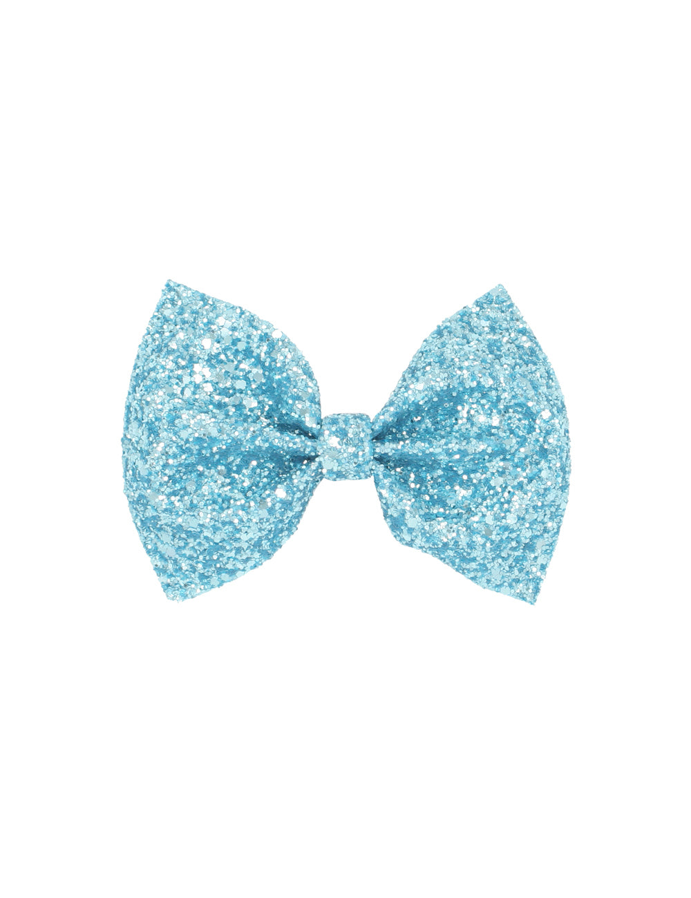 Glitter Bow Tie | Ice Blue