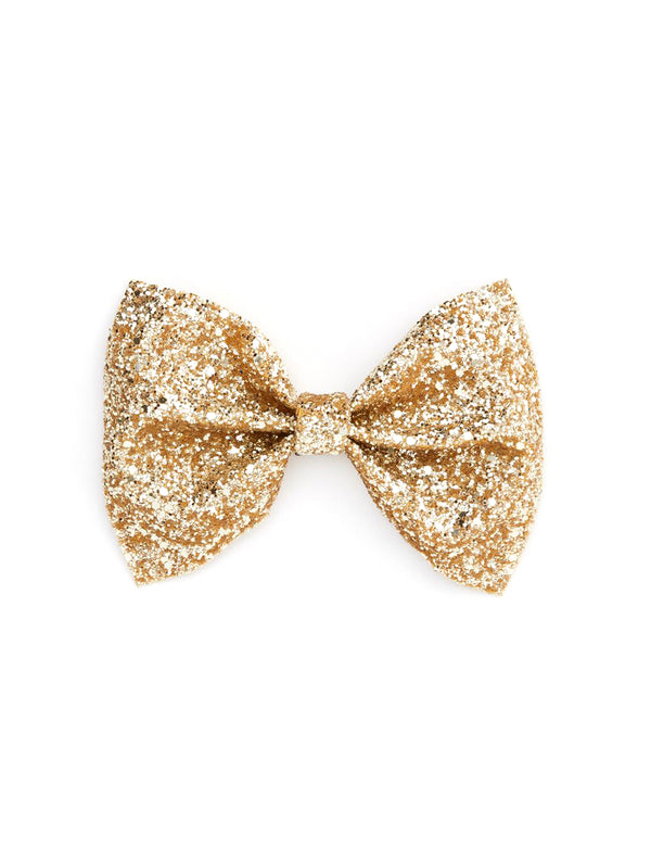 Glitter Bow Tie | Gold